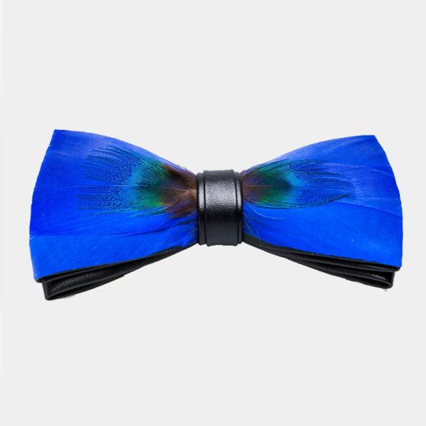 brakisch Peacock Feather bow Tie from Gentlemansguru.com