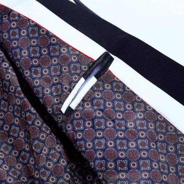 Black And White Striped Sport Coat for Men