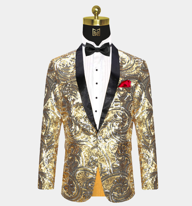 Gold-Sequin-Tuxedo-Jacket-Prom-Wedding-Blazer-from-Gentlemansguru.com