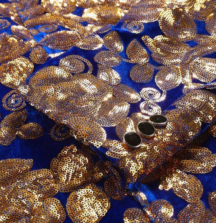 Men-Blue-and-Gold-Jacket-Blazer-Velvet-Sequins-from-Gentlemansguru.com
