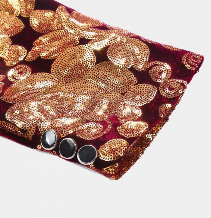 Red-Wine-And-Gold-Prom-Jacket-Blazer-Wedding-from-Gentlemansguru.com