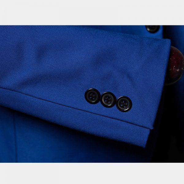 Royal Blue Mens Suit Jacket Coat Slim Fit Design