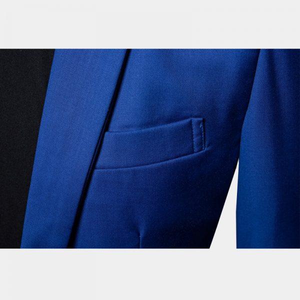 Royal Blue Suit Jacket Mens