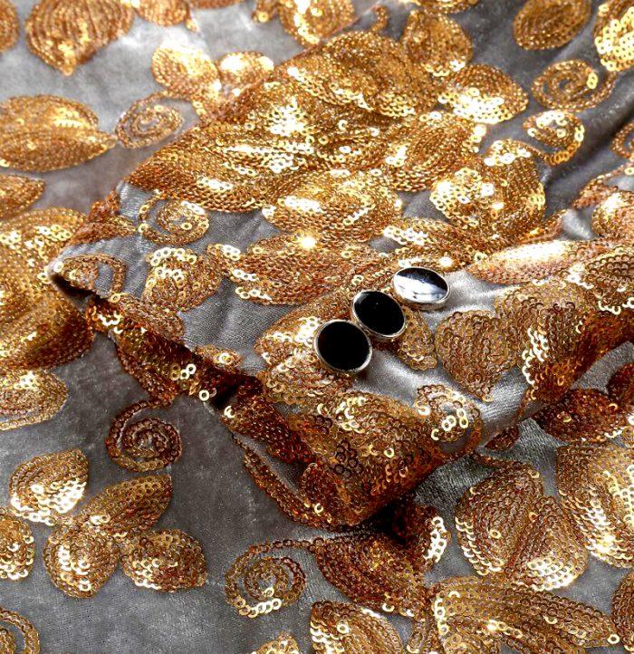 Mens-Silver-And-Gold-Wedding-TuxedoJacket-Blazer-from-Gentlemansguru.com
