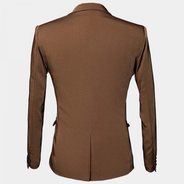 Toddler Brown Suit Jacket Mens Blazer