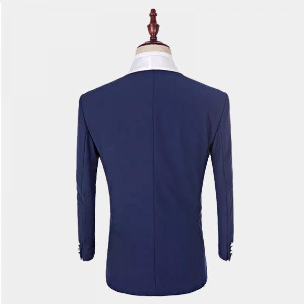Classic Navy Blue Tuxedo Tuxedo Jacket from Gentlemansguru.com