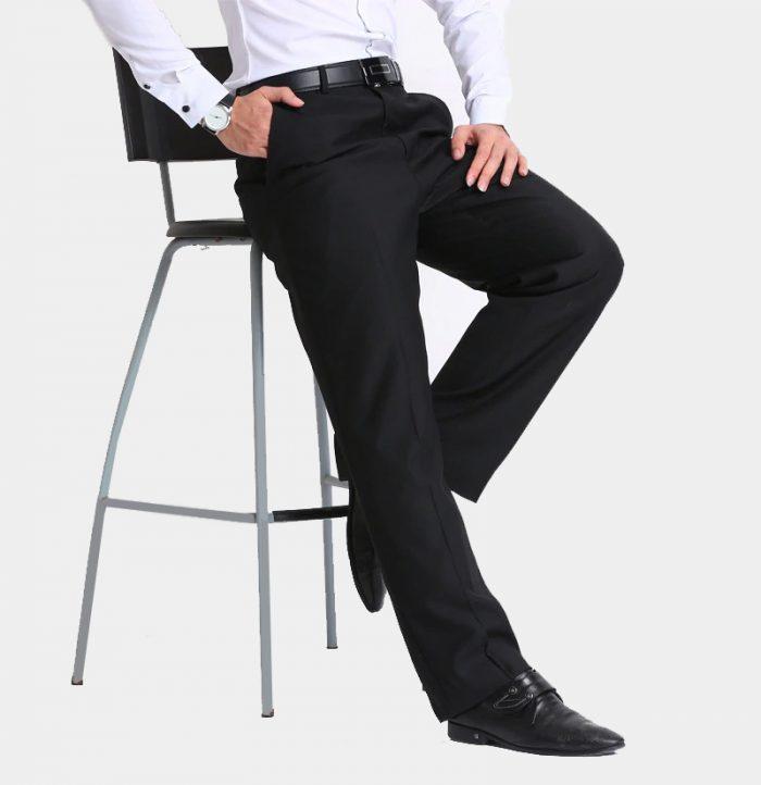 Mens-Black-Dress-Pant-from-Gentlemansguru.com