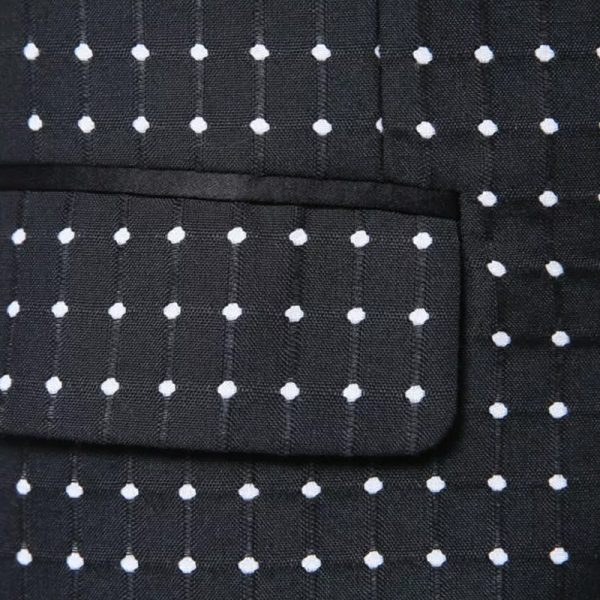 Mens Black Polka Dot Tuxedo Pattern from Gentlemansguru.com