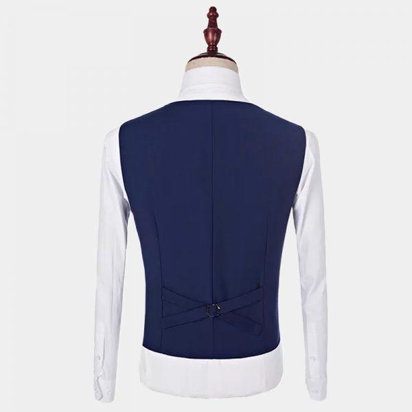 Navy Blue Tuxedo Vest from Gentlemansguru.com