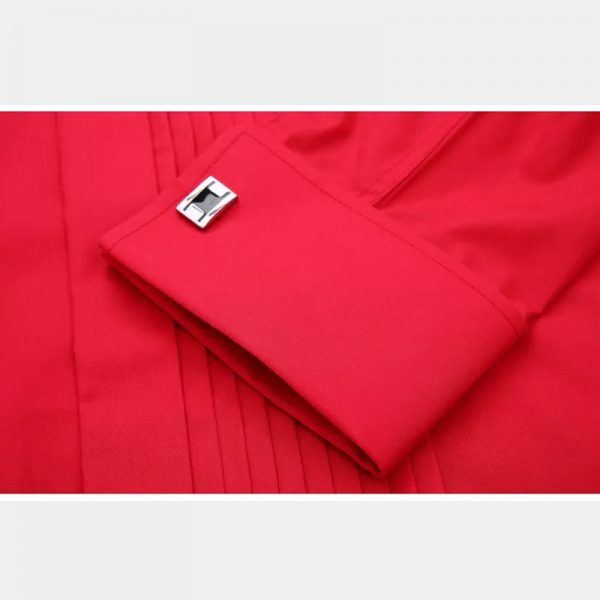 Red Dress Tuxedo Shirt from Gentlemansguru.com