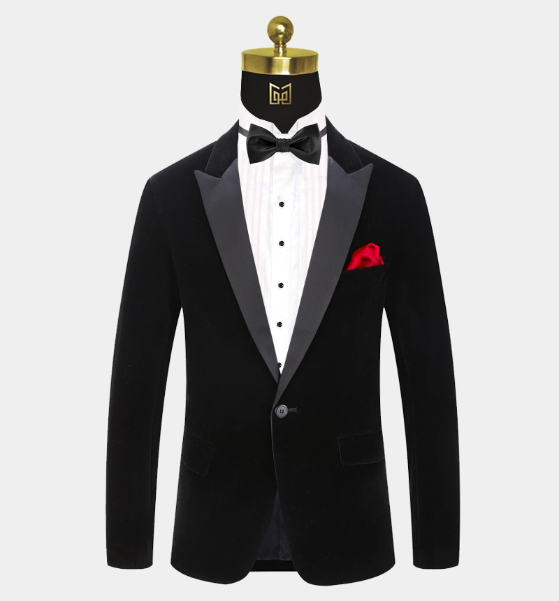 Peak-Lapel-Black-Velvet-Tuxedo-Jacket-Prom-Blazer-Dinner-Jacket-from-Gentlemansguru.com