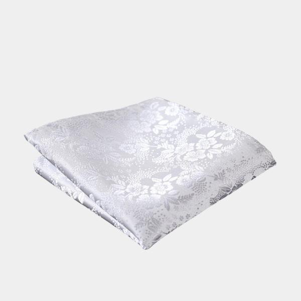 White Floral Pocket-Sque-Handkerchief from Gentlemansguru.com - Copy