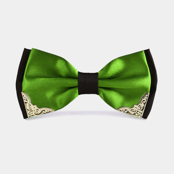 Fancy-Green-And-Black-Bow-Tie-from-Gentlemansguru.com_