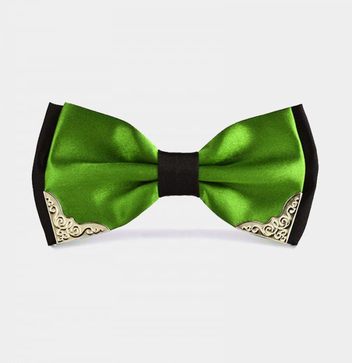 Fancy-Green-And-Black-Bow-Tie-from-Gentlemansguru.com_
