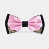 Mens-Pink-And-Black-Bow-Tie-from-Gentlemansguru.com