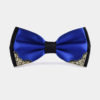 Mens-Royal-Blue-And-Black-Bow-Tie-from-Gentlemansguru.com_
