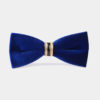 Royal-Blue-Velvet-Bow-Tie-from-Gentlemansguru.com