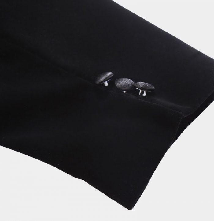 Black Velvet Tuxedo Jacket Outfits-Big_and_tall_Uk_Next_ from Gentlemansguru.com