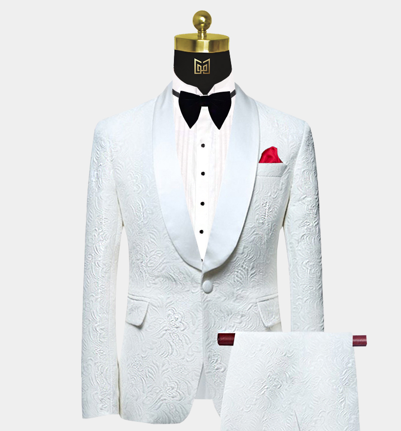 Floral-All-White-Tuxedo-Wedding-Prom-Suit-from-Gentlemansguru.com