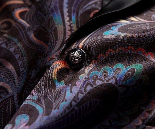 Paisley Tuxedo Desing