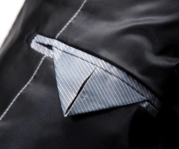 Inside Linen Paisley Tux Jacket