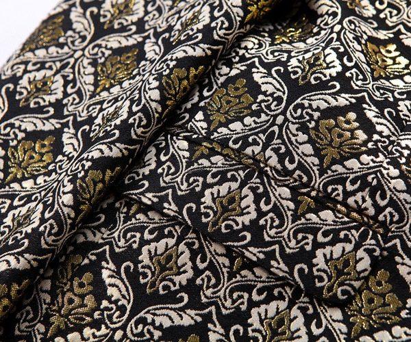 Jacquard Gold Tux Jacket