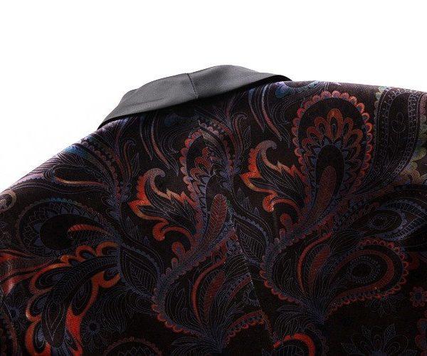 Luxury Paisley Tuxedo Blazer