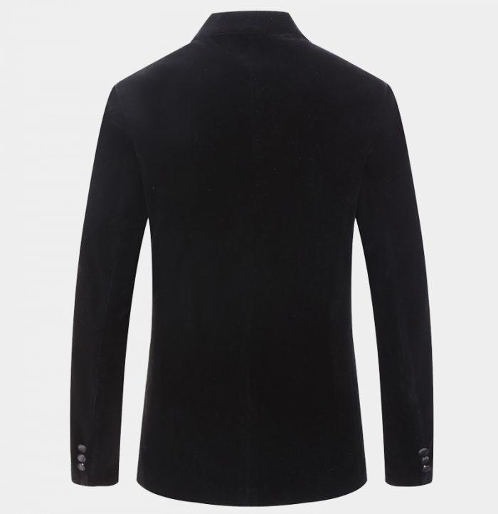 Mens Black Velvet Dinner Jacket from Gentlemansguru.com