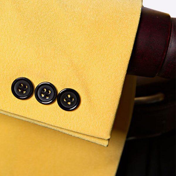 Mens Yellow Shawl Collar Tuxedo Jacket from Gentlemansguru.com