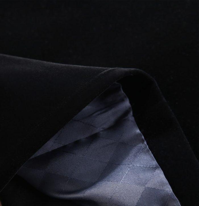 Mens+Black +Velvet+Blazer from Gentlemansguru.com