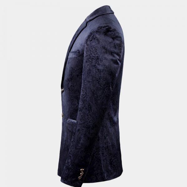 Navy Blue Mens Jacket