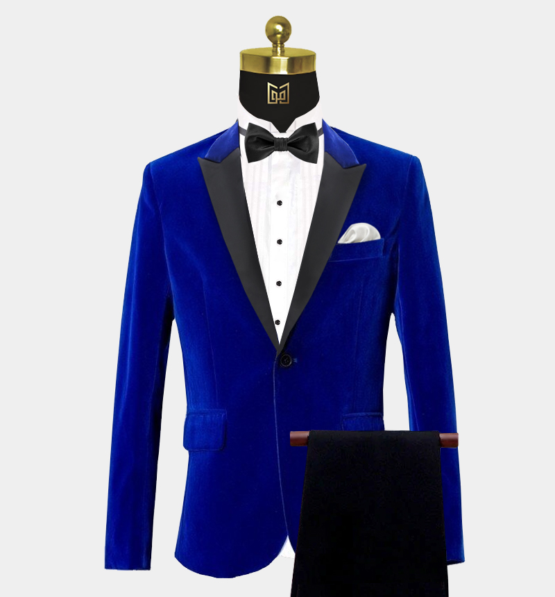 Peak-Lapel-Royal-Blue-Velvet-Tuxedo-Prom-Suit-from-Gentlemansguru.com