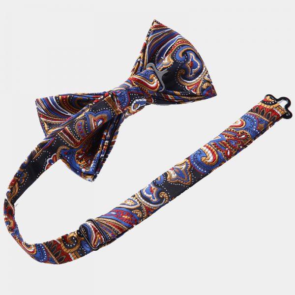 Colorful Paisley Bow Tie Set from Gentlemansguru.com