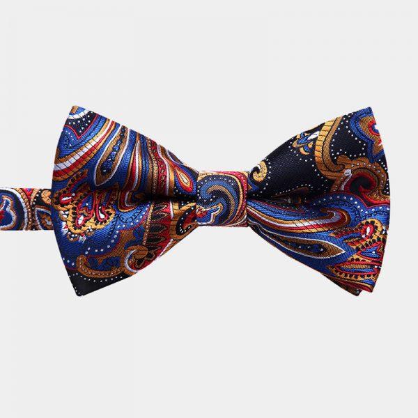 Colorful Paisley Pre-Tie Bow Tie from Gentlemansguru.com