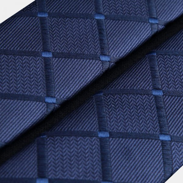Navy Blue Plaid Pattern