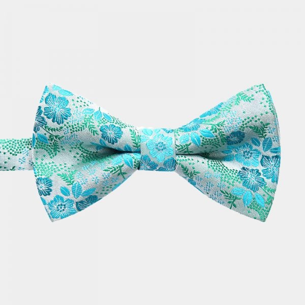 Turquoise Pre-Tie Bow Tie from Gentlemansguru.com