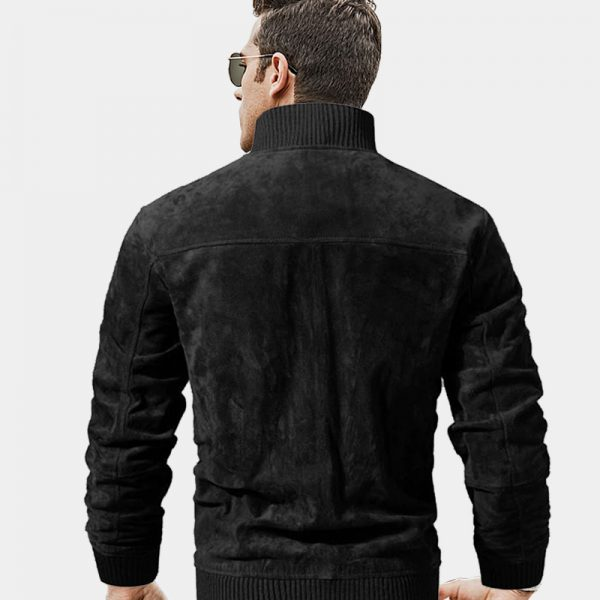 Black Suede Jacket Mens from Gentlemansguru.com