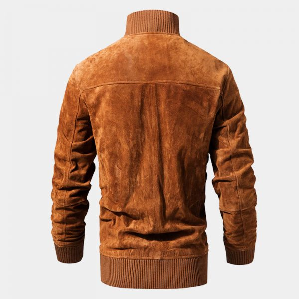 Brown Suede Jacket Mens from Gentlemansguru.com