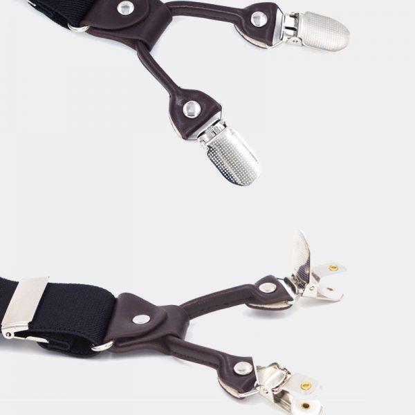 Clip On Dual Clip Double Ups Suspenders from Gentlemansguru.com