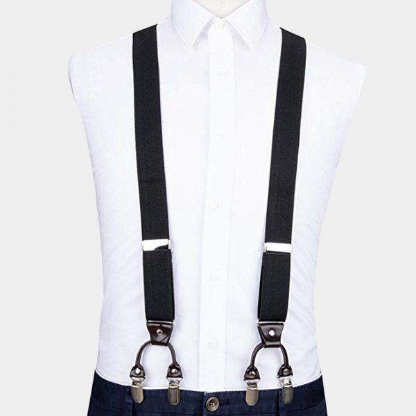 Dual Hold Ups Clip On Suspenders from Gentlemansguru.com