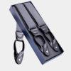 Mens Gray Button Suspenders from Gentlemansguru.com
