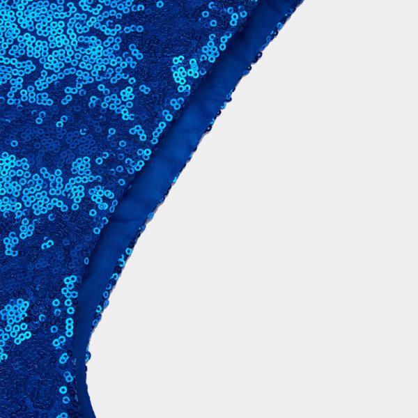 Blue Dance Costume Sequin Vests from Gentlemansguru.com