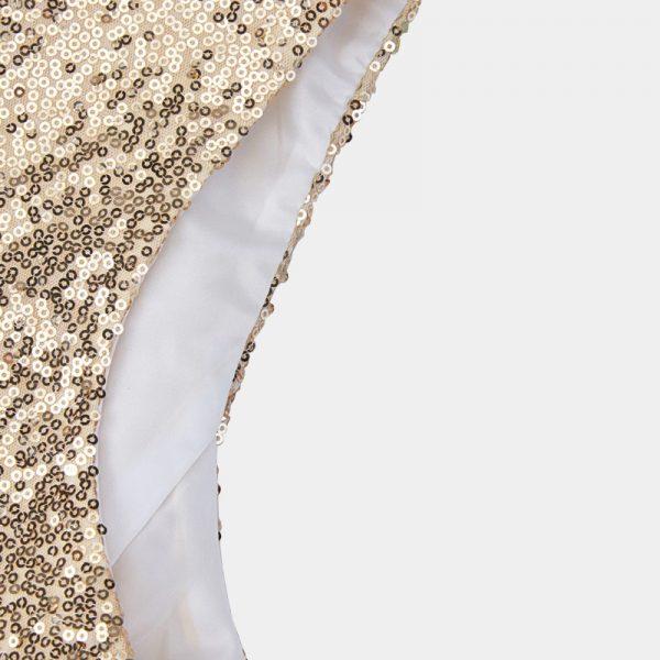 Gold Sequin Costume Vest from Gentlemansguru.com