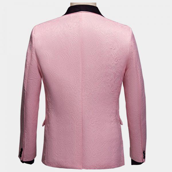 Black And Pink Tuxedo Suit Wedding-Prom from Gentlemansguru.com