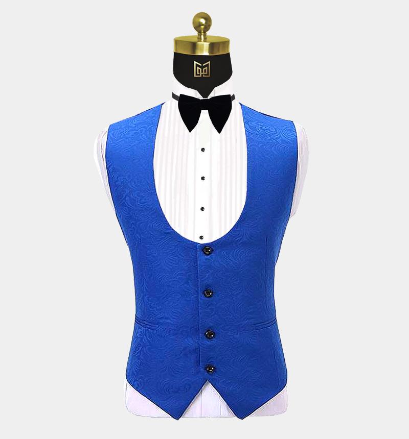 Royal-Blue-Floral-Tuxedo-Vest-from-Gentlemansguru.com
