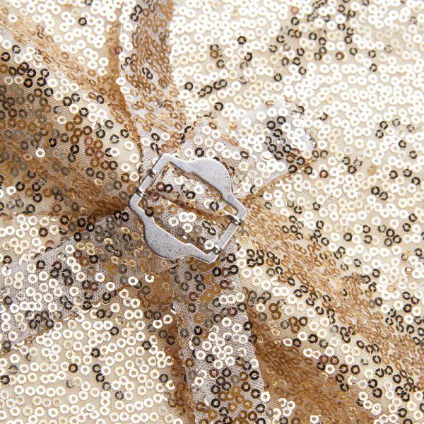 Sparkly Mens Gold Sequin Vest from Gentlemansguru.com