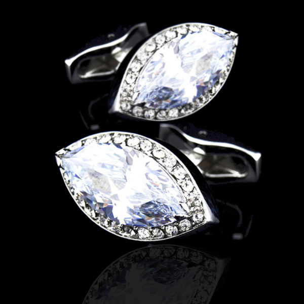 Diamond Cufflinks For Men -from-Gentlemansguru.com