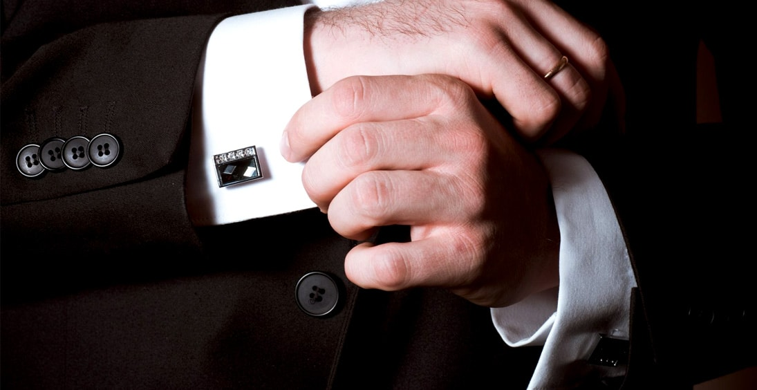 How To Wear and Put On Cufflinks For Men-from-Gentlemansguru.com