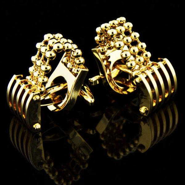 Luxury-Gold-Chains-Cufflinks-For-Men-from-Gentlemansguru
