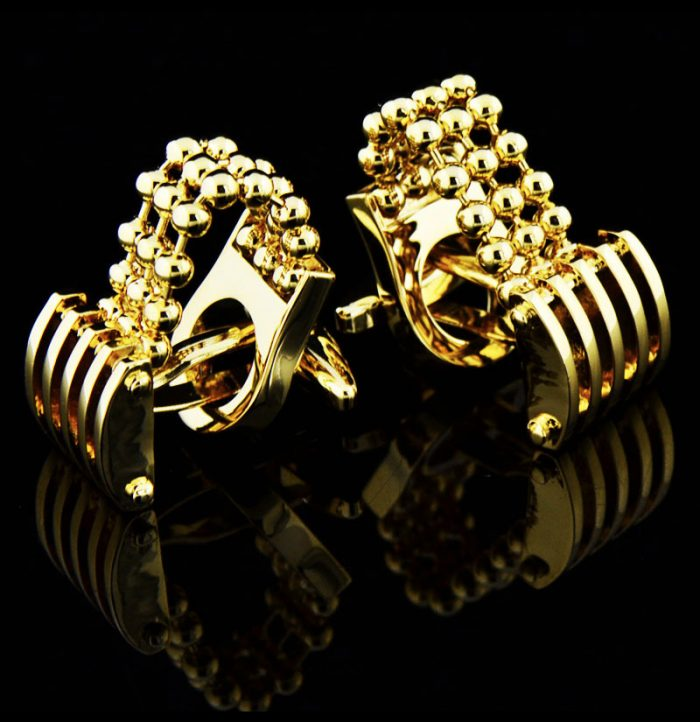 Luxury-Gold-Chains-Cufflinks-For-Men-from-Gentlemansguru